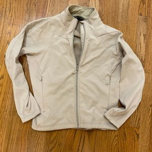 Rei fleece lined windbreaker lady's large